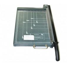 Резак для бумаги 918-1 А3 серый пластик с фиксатором