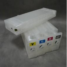 ПЗК комплект  для Epson SC-T3000, SC-T5000, SC-T7000. Комплект 5 штук с авточипами без чернил