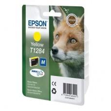 Картридж EPSON Т1284 Yellow  SX125/SX420W/Office BX305F  (О)