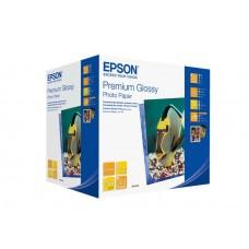 Фотобумага EPSON  Premium Semigloss Photo Paper  500л.10х15 251г. С13S042200