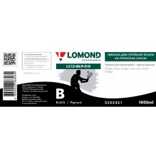 Чернила LOMOND для Canon CL-511/513 (1л.) LC13-010B Черный L0205421