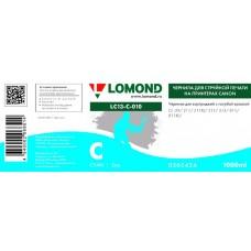 Чернила LOMOND для Canon CL-511/513 (1л.) LC13-010C Голубой L0205424