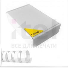 Пластиковые пружины для переплета (14 мм/125) белые (100 шт в пач)