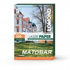 Бумага LOMOND для Лаз.Печати Матовая Двух  А3/150/300г  0300731