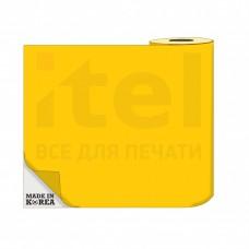 Термотрансферная пленка OS Flex (Флекс)  50см./50м./190mk Желтый цена за 1 метр