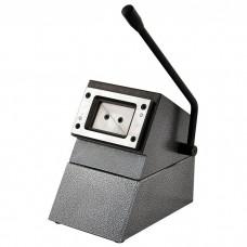 Вырубка для визиток ПВХ FL Premium D-012  50х90 мм ( прямоугольные углы)