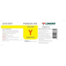 Чернила Stylus PRO 4880/7880/9880 LOMOND LE10-010Y  Yellow / Желтый 1L. Пигментные