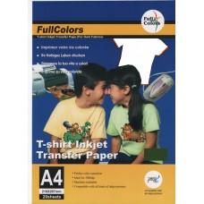 ТЕРМОТР-Р стр. для СВЕТЛЫХ тканей  (A4/20)  FULLCOLOR STW-A4-20 (80)