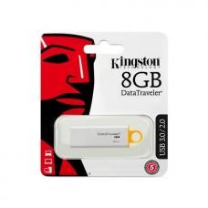 USB Флеш   8GB 3.0 Kingston DTIG4/8GB белый пластик
