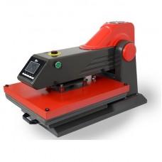 Автоматический плоский электрический пресс E-15S  размер стола 38*38