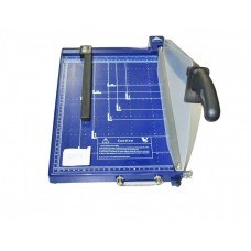 Резак для бумаги 928-3 А4 синий шторка-фиксатор пластик  (8 box)