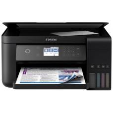 МФУ цветной,струйный фабрика печати Epson L6160 C11CG21404 4-х Цветное МФУ Wi-Fi, Ethernet (Чернила 101)