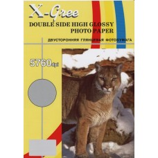 A4 CL160DL  X-GREE (100л) DOUBLE SEMI-GLOSSY COLOR LASER PAPER (160гр.)