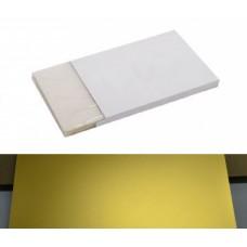 Пленка для холодной ламинации GM-01-A4-50  ( золото )