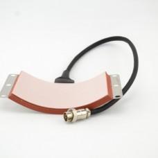 Нагревательный элемент DCH пресса  для кепок  диаметр 9*15,5см (без основы)