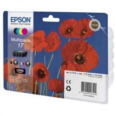 Набор картриджей С13T17064A10 T1706 Epson Multipack XP-33/103/203