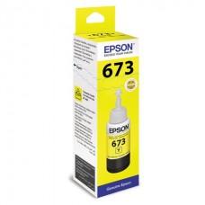 Чернила C13T67344A L800 Yellow ink bottle 70ml