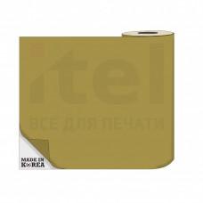 Термотрансферная пленка OS Flex (Флекс)  50см./50м./190mk Золото цена за 1 метр