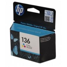 C9361HE Картридж HP Inkjet Tri-color №136  (7мл.)