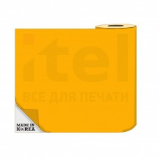 Термотрансферная пленка OS Flex (Флекс)  50см./50м./190mk  НЕОН Оранжевый цена за 1 метр
