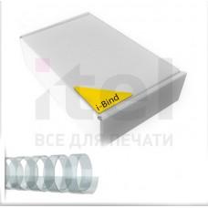 Пластиковые пружины для переплета  (6 мм/25) прозрачные (100 шт в пач)
