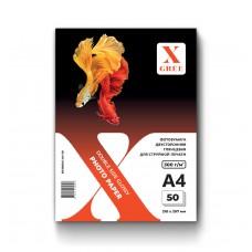 5H300DG-А4-50 Фотобумага для струйной печати X-GREE Глянцевая Двусторонняя A4*210x297мм/50л/300г NEW (16)