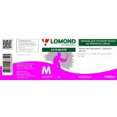 Чернила LOMOND для Canon CL-511/513 (1л.) LC13-010M Пурпурный L0205427