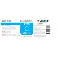Чернила Stylus PRO 4880/7880/9880 LOMOND LE10-010C  Cyan / Голубой  1L. Пигментные
