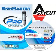 Программа Signmaster PRO (Auto contour cut) для Авто. Оптич. Позиц. SKYCUT
