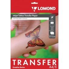 Бумага LOMOND для изготовления временных Татуировок  А4/5  ink 2010450 NEW