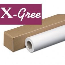 Бумага рулонная X-Gree Self-Adhesive самоклеящаяся глянцевая 24