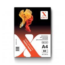 5H250DG-А4-50 Фотобумага для струйной печати X-GREE Глянцевая Двусторонняя  A4*210x297мм/50л/250г NEW (20)