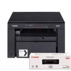 МФУ Canon i-SENSYS MF3010 PRINT/COPY/SCAN (Картридж 725) + 1 оригинальный картридж дополнительно