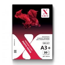 53W200-A3+-20 Фотобумага для струйной печати X-GREE Глянцевая Premium A3+*330x482мм/20л/200г NEW (25)